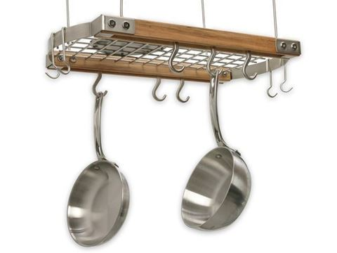 Hanging Oval Pot Rack