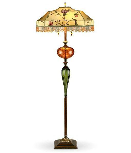 Living Room Floor Lamp | James - Beaded