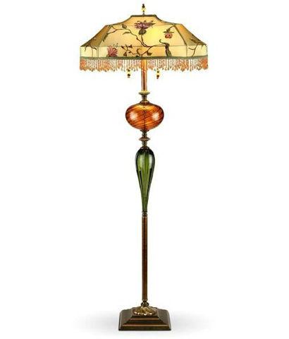 Kinzig Floor Lamp | James | Beaded