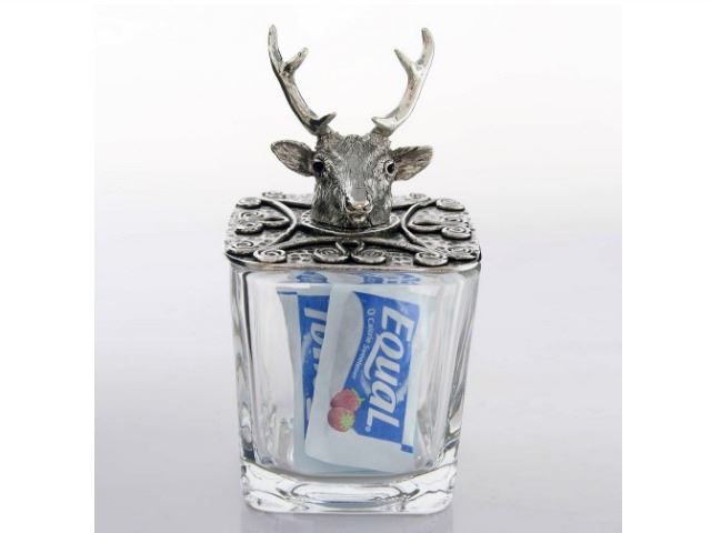 Picture of Stag Jar Salt/Sugar Container