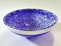 Blown Glass Sink | Cobalt Blue Whirlpool