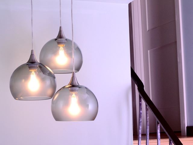Picture of Atmospheric Series Globe Pendant Chandelier 3 pc