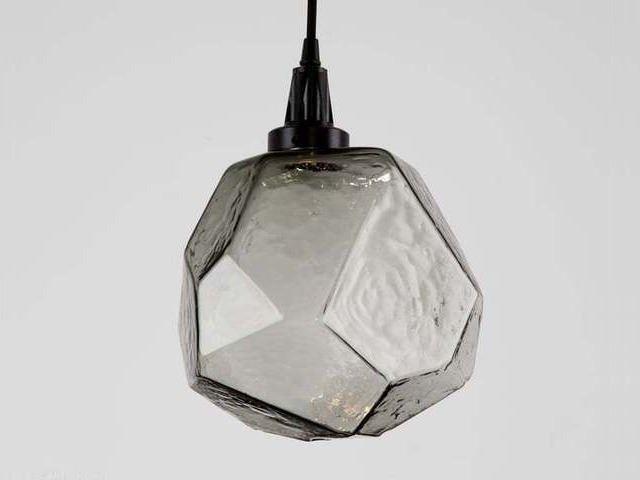 Picture of Blown Glass Pendant Light | Gem