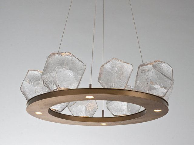 Picture of Ring Chandelier | Gem 8