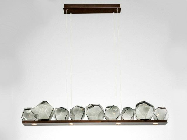 Picture of Linear Chandelier | Gem 9