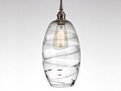 Blown Glass Pendant Light | Ellisse