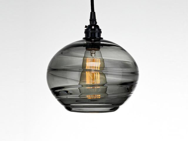 Picture of Blown Glass Pendant Light | Coppa