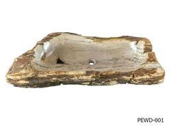 "Picture of Jumbo Petrified Wood Sink 38""-44"""