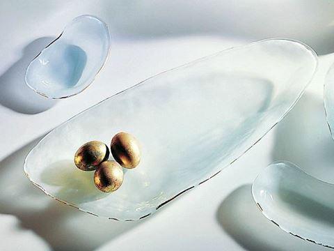 Shells Tiburon Glass Platter