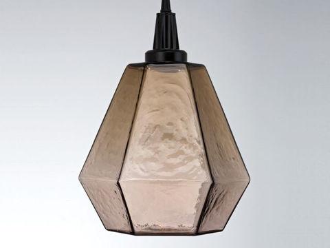 Blown Glass Pendant Light | Hedra