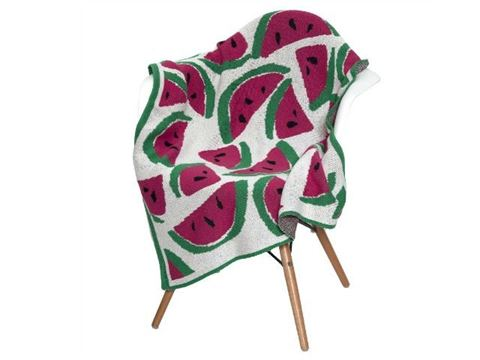 Eco Baby Watermelon Throw by In2Green
