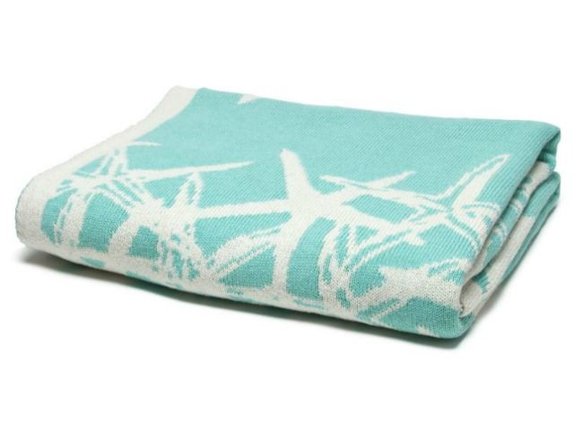 Picture of Eco Tumbling Starfish Reversible Throw by In2Green