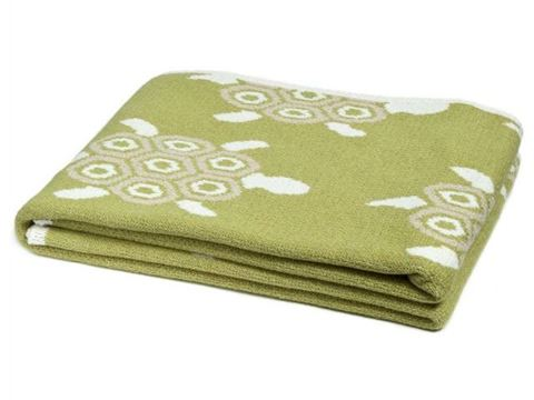 Eco Turtles Design Throw by In2Green