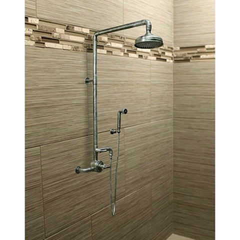 Sonoma Forge   Thermostatic Shower System   Waterbridge 950 with Handshower