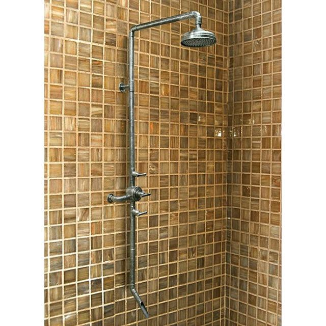 Picture of Sonoma Forge | Thermostatic Shower System | Waterbridge 970 with Tub Filler