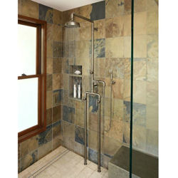 Sonoma Forge | Outdoor Shower | Waterbridge 1050 with Handshower
