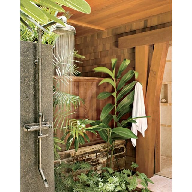 Picture of Sonoma Forge | Outdoor Shower | Waterbridge 870 with Tub Filler
