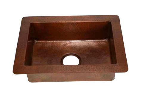 "22"" Copper Prep Sink by SoLuna"