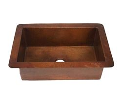"""Picture of 36"""" Copper Kitchen Sink by SoLuna"""