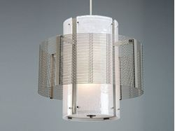 Drum Chandelier | Downtown Mesh I