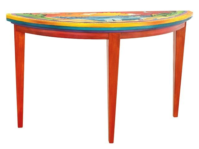 Picture of Hand Painted Sofa Table | Watch Sunsets