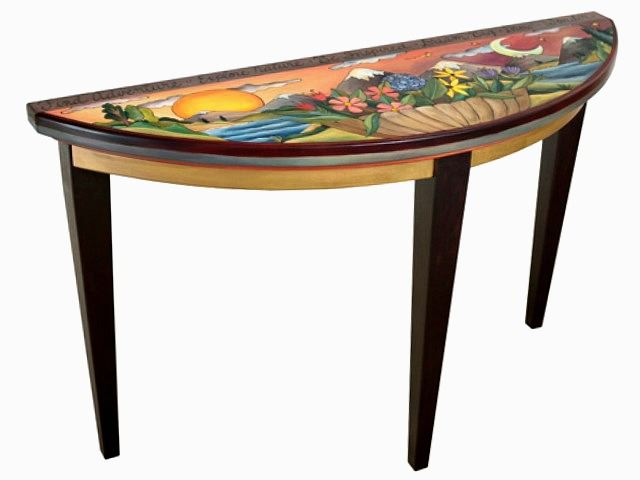 Picture of Hand Painted Sofa Table | Find Adventure