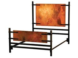 Florida Bed with Copper Panels