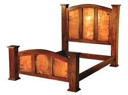 Picture of Kendra Bed with Copper Panels
