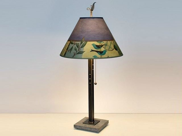 Picture of Janna Ugone Table Lamp   New Capri in Periwinkle 2