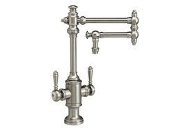 "Picture of Waterstone Towson Kitchen Faucet with Double Handles  - 12"" Articulated Spout"