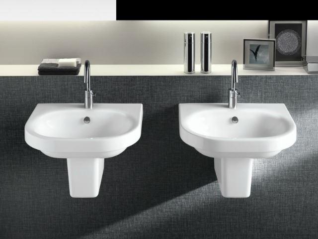 Picture of Bissonnet Pro Daytime 55 Semi-Pedestal Ceramic Sink