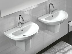 Bissonnet Pro Erika 62 Semi-Pedestal Sink