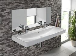 Bissonnet Smyle 120 Ceramic Sink