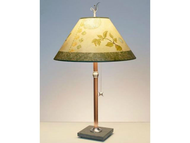 Picture of Janna Ugone Table Lamp | Celestial Leaf 3