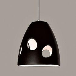 Picture of A19 Ceramic Pendant Light | Milano Black