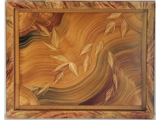 Picture of Grant-Norén Serving Tray - Honey Burl