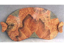 Grant-Norén Environment Serving Tray - Burl