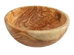 Picture of Naturally Med Olive Wood Salad Bowl