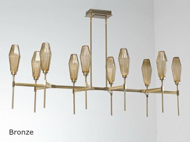 Picture of Linear Chandelier   Aalto   10 pc