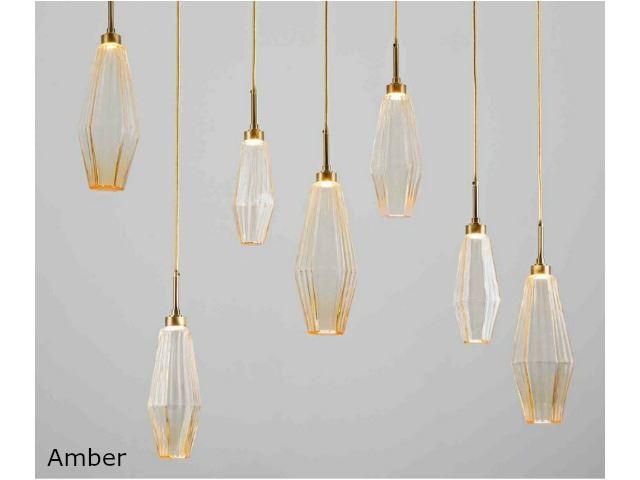 Picture of Linear Chandelier   Aalto   7 pc