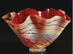 Picture of Golden Gem Fluted Bowls