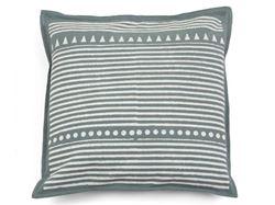 Kamana Gray Throw Pillow