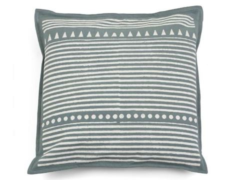 Kamana Gray Throw Pillow