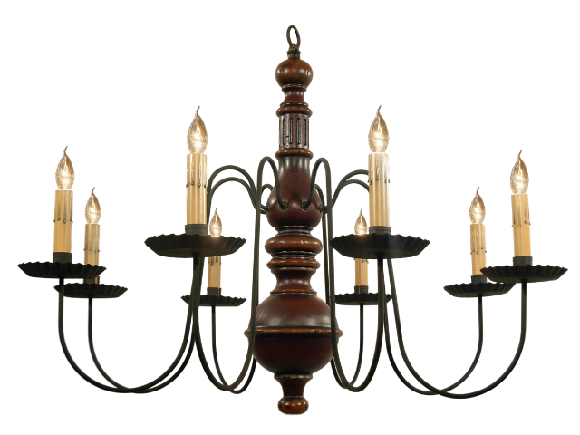Picture of Hamilton Wood Chandelier