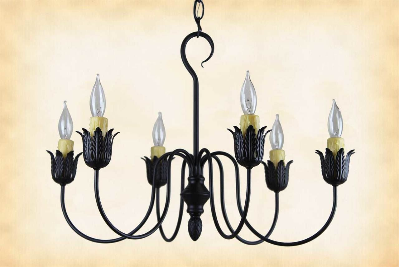 Picture of Farmhouse Metal Chandelier