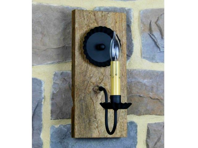 Picture of Barn Wood Sconce
