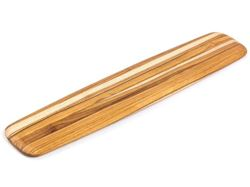 Picture of Rectangle Edge Grain Gently Rounded Edge Serving Board by Proteak