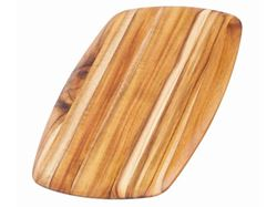 Rectangle Edge Grain Gently Rounded Edge Serving Board by Proteak 14 inch