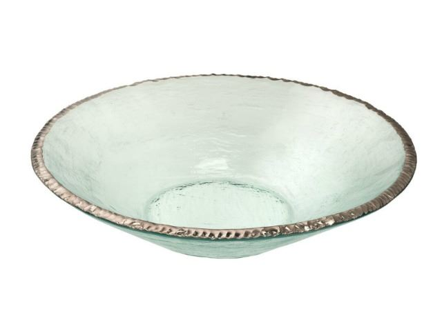 Picture of Edgey Round Glass Bowl