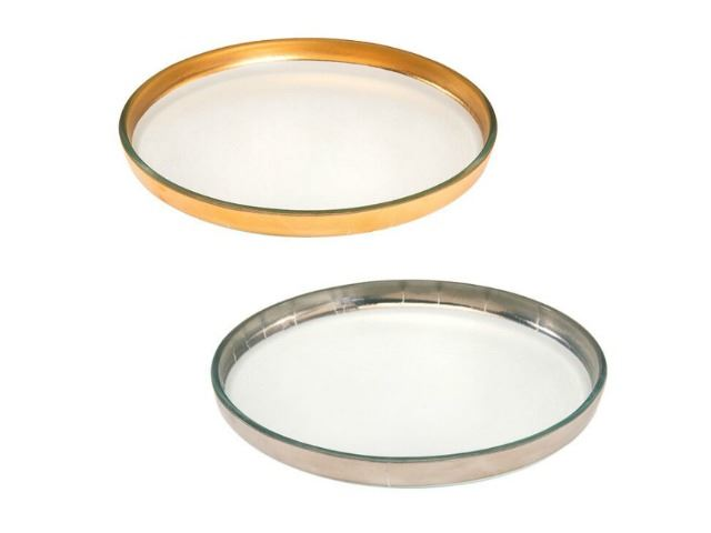 Picture of Mod Round Glass Plate